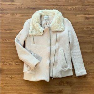 Zara Light pink wool coat